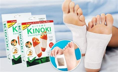Kinoki Cleansing Detox Foot Pads Side Effects by Kinoki Detox Slimming Foot Patch Id 8087118 Product