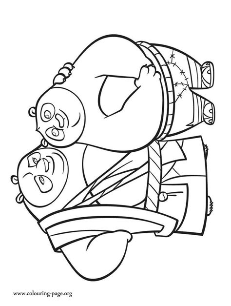 kung fu panda coloring pages games kung fu panda coloring pages po