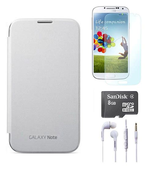 Headset Samsung Galaxy Note 1 axes flip cover for samsung galaxy note 1 n7000 white screen guard earphones