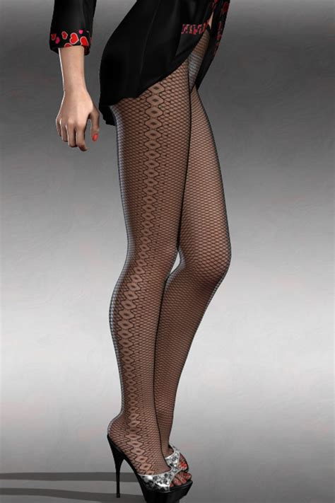 brown diamond pattern tights black diamond sides detail stretch fishnet tights lc79776