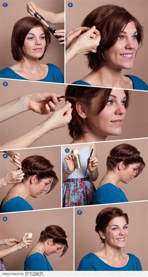 diy haircuts short 12 short updo hairstyles ideas anyone can do popular