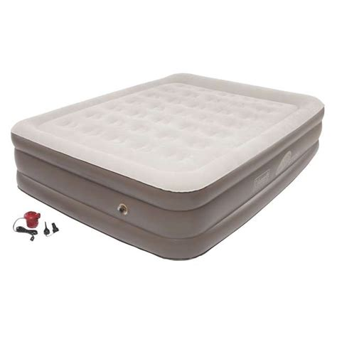 coleman supportrest plus pillowstop high air mattress 2000025764