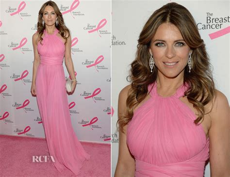 Which Elizabeth Hurley Breast Cancer Pink Frock Is Most Fab by Elizabeth Hurley Carpet Fashion Awards