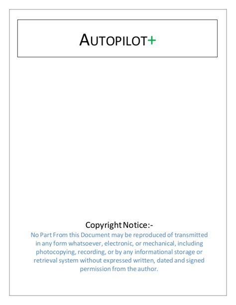 Make Money Online Autopilot - autopilot method to make money online