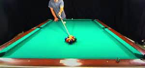how to perform a nine properly in pool