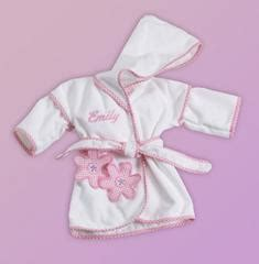 Dress Baby Tile Two Flower Pink baby gifts baby shower gifts stork baby gift