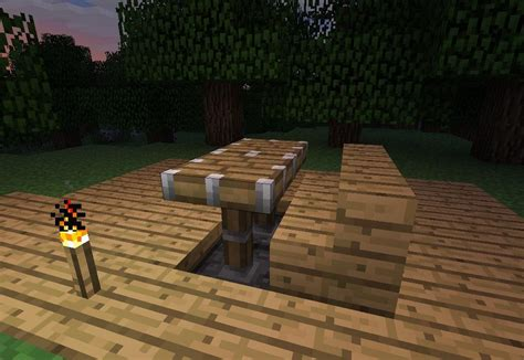 Minecraft Dining Table How To Make Furniture In Minecraft 171 Minecraft