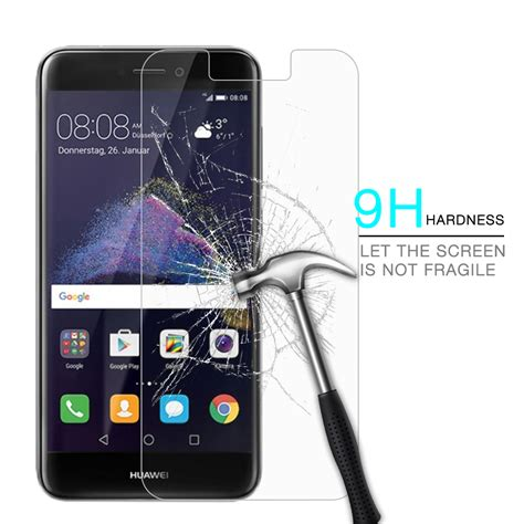 Tempered Glass Km Huawei P9 Lite for honor 8 lite tempered glass for huawei p9 lite 2017 screen protector glass for huawei p8