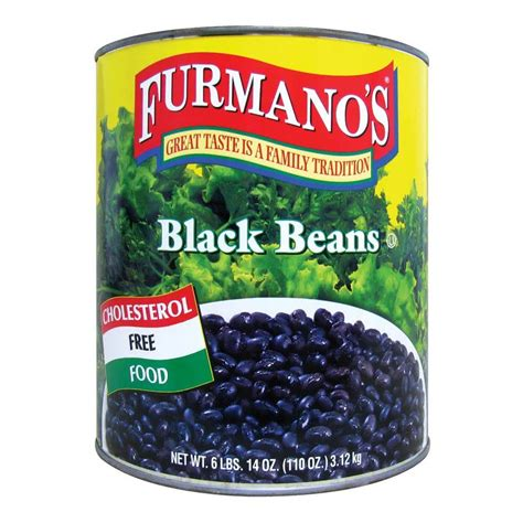 can dogs black beans furmano s fancy black beans in brine 10 can