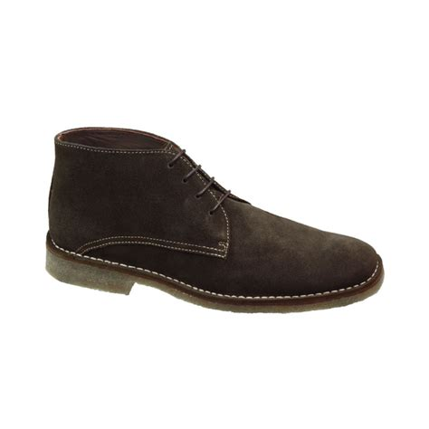 johnston and murphy mens boots johnston murphy runnell chukka boots in brown for