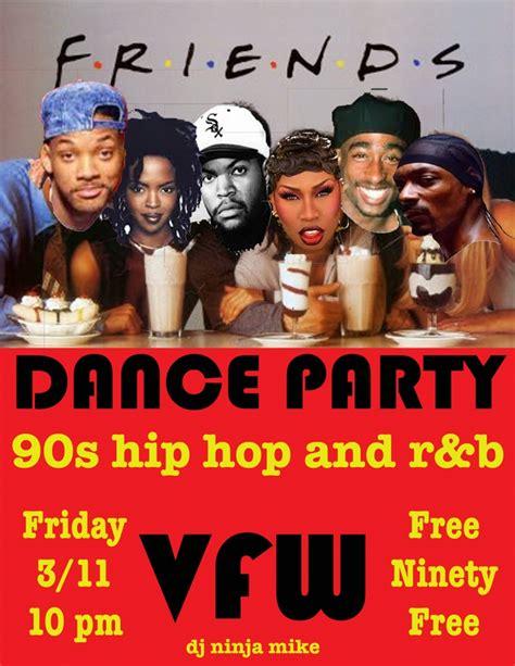 hip hop dance party playlist 90s hip hop and r b dance party 03 11 2016 missoula