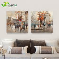aliexpress buy 2 pieces canvas modern painting landscape painting wall