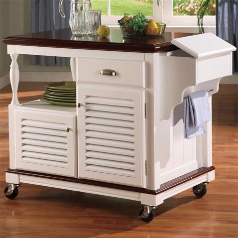 kitchen portable island white portable kitchen island bitdigest design stylish