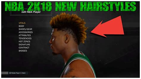 hairstyles nba 2k18 nba 2k18 all new hairstyles lamelo ball haircut
