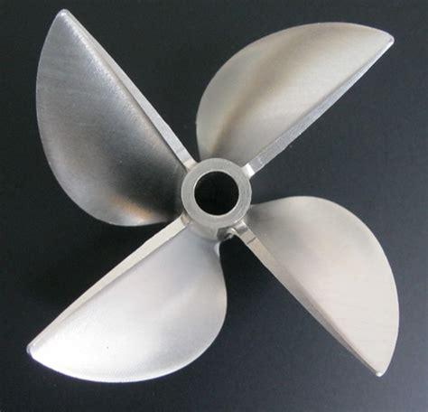 4 inch boat propeller billet machined 4 blades alloy 6717 prop propeller for 6