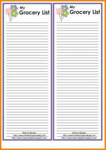 blank grocery shopping list template blank grocery list template templates png blank grocery