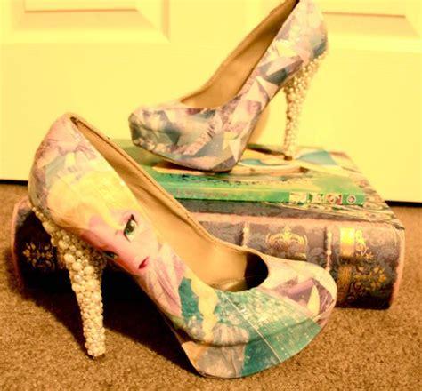frozen high heels frozen high heels disney shoes