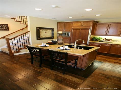 wood cabinets with wood floors kitchens with wood floors and wood cabinets medium brown