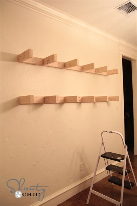 shelves for dining room diy floating shelf plans for the dining room shanty 2 chic