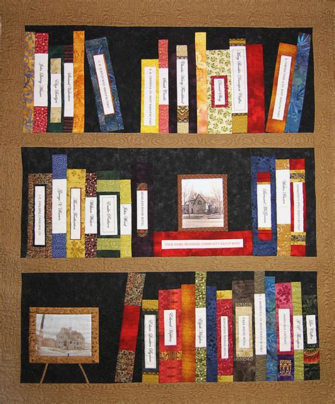 Library Quilt by Historic Heritage Quilt