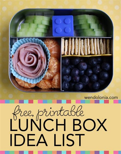 boxes ideas school lunch box ideas for back to school the educators spin on it