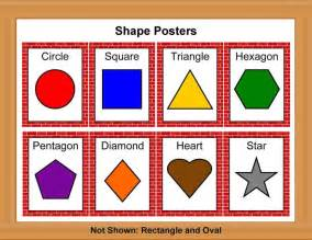 color posters printable color poster for preschool shape posters