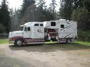 Open Road 5th Wheel Floor Plans semi truck aluminum camper amp car hauler neat pinterest