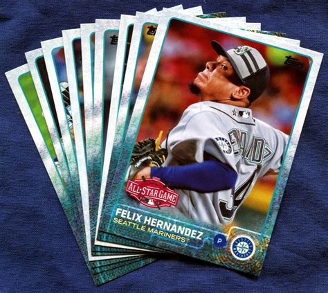 Seattle Mariners Gift Card - 2015 topps update seattle mariners baseball cards team set