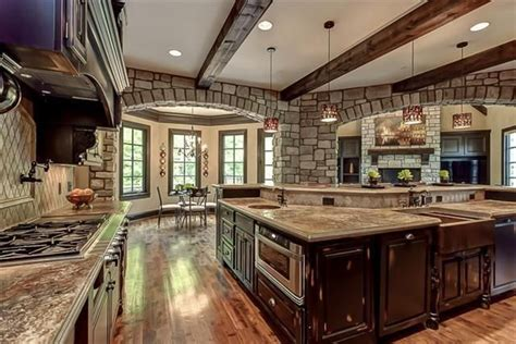 big kitchens designs big open kitchen dream homes pinterest