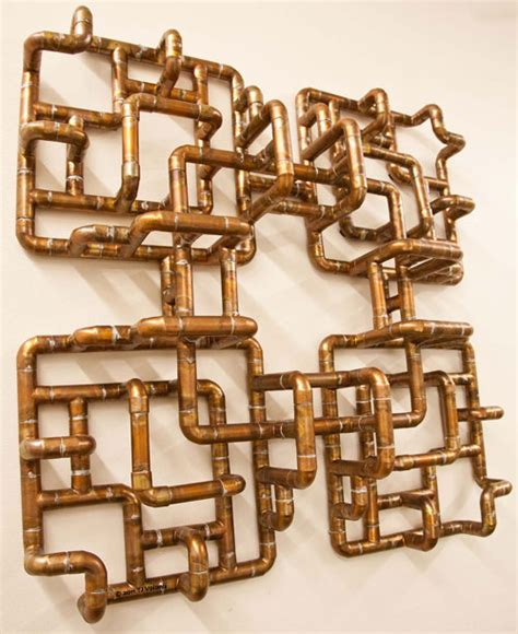 Tj Plumbing by Sculptural Copper Tubing Furniture And By Tj Volonis