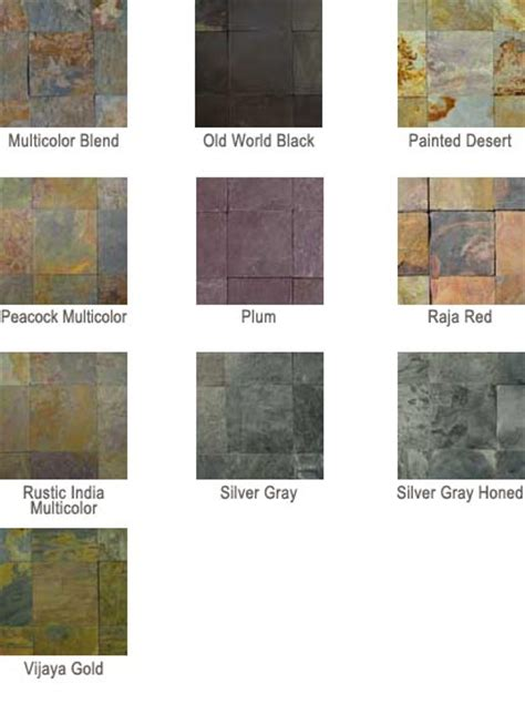 Slate Countertops Colors by Arizona Slate Countertops Price Quotations And