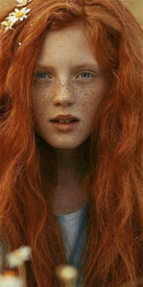 red headed woman freckles ginger hair with freckles sass in class pippi style