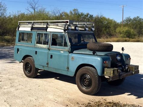 1967 Land Rover Defender Safari Left Drive