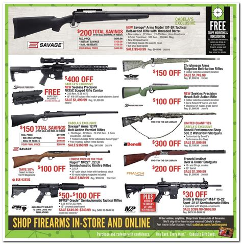 Cabelas Black Friday Gift Card - smith wesson m p 15 22 sport 22 lr semiautomatic rifles 50 cabela s gift card