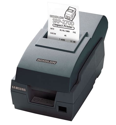 Harga Matrix Mini jual harga bixolon srp 270 printer mini dot matrix
