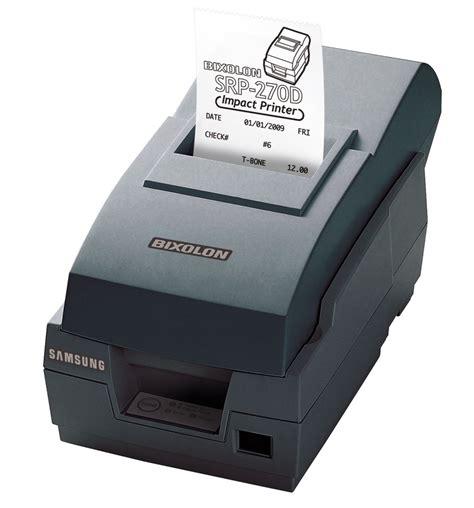 Harga Dot Matrix jual harga bixolon srp 270 printer mini dot matrix