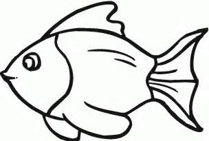 Fish Template Cut Out by Fish Template Cut Out Coloring Home
