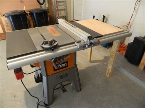 Ridgid Table Saw Extension by Table Saw Extension Table For Ridgid Table Saw By
