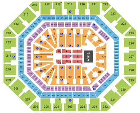 Acc Floor Plan by I Love The 90s Phoenix Tickets 2017 I Love The 90s