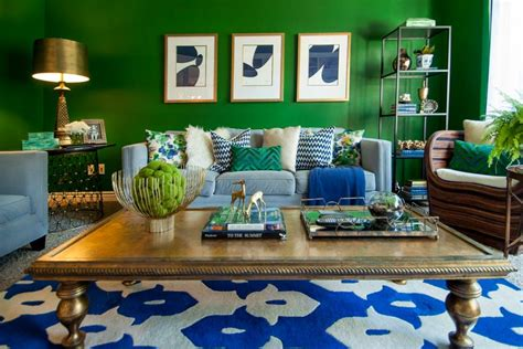 royal blue room 21 green living room designs decorating ideas design