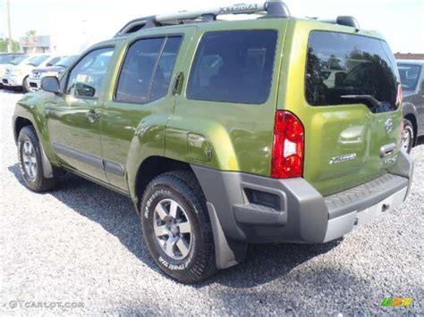 metallic green 2011 nissan xterra pro 4x 4x4 exterior photo 48817761 gtcarlot