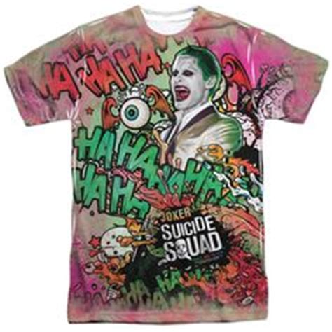 Baju Print Suiciad Squad 8 squad joker jared leto poster jared leto jared leto joker and us states