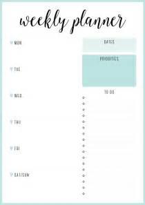 Printable Weekly Planner Template by Free Printable Irma Weekly Planners Eliza Ellis