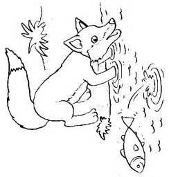 baby fox coloring pages free coloring pages of baby fox