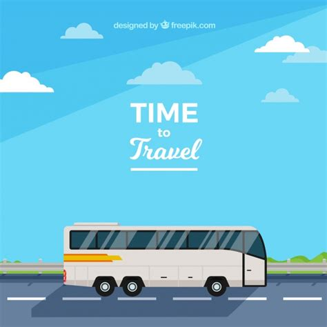 best bus tour design template stock vector c slena