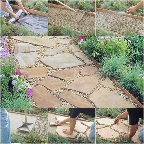 solve the puzzle diy flagstone walkway tutorial for inspiration