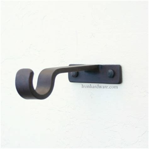curtain rod mounting brackets iron drapery hardware mounting brackets paso robles