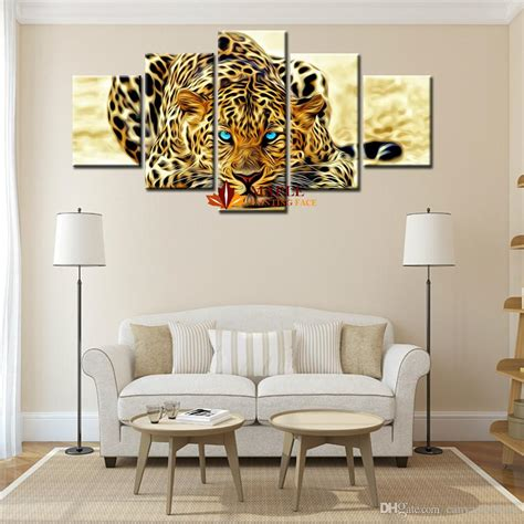 5 plane abstract leopards modern home decor wall art 2017 abstract leopards modern home wall decor wall picture
