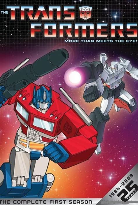 Transformers Season 1 transformers the complete season 25th anniversary