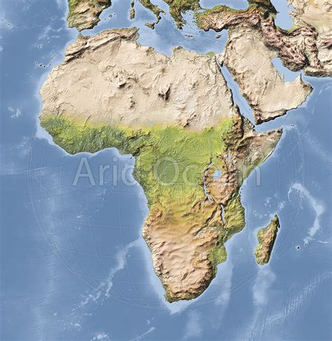 what can you give a for relief relief map of africa indiecartographer